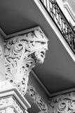 Edificio de Nouveau del arte fotografía de archivo libre de regalías