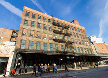 Edificio de Nueva York Imagenes de archivo