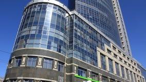 Edificio de oficinas almacen de metraje de vídeo