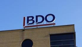 Edificio de oficinas de BDO Imagenes de archivo