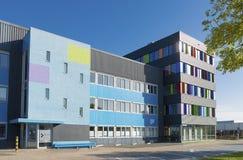 Edificio de oficinas colorido imagen de archivo libre de regalías