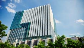 Edificio de oficinas comercial moderno Imagen de archivo