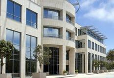 Edificio de oficinas corporativo hermoso en California Foto de archivo