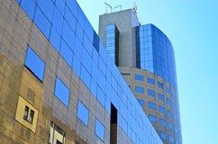 Edificio de oficinas de asunto Imagen de archivo