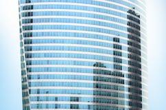 Edificio de oficinas de asunto Imágenes de archivo libres de regalías