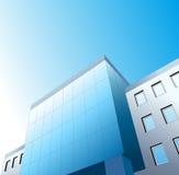 Edificio de oficinas de gráfico Fotos de archivo