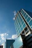 Edificio de oficinas de la alta subida Imagen de archivo libre de regalías