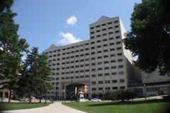 Edificio de oficinas de la casa Imagenes de archivo