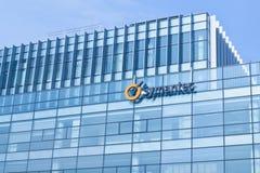 Edificio de oficinas de Symantec Foto de archivo