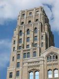Edificio de oficinas del art déco Imagen de archivo libre de regalías