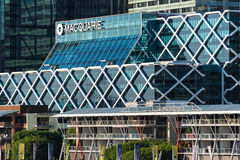 Edificio de oficinas del grupo de Macquarie Fotos de archivo libres de regalías
