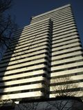 Edificio de oficinas en Portland, Oregon Fotografía de archivo libre de regalías
