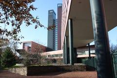 Edificio de oficinas en Tilburg Imágenes de archivo libres de regalías