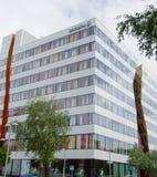 Edificio de oficinas de Ericsson en Kista Fotografía de archivo libre de regalías