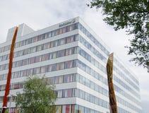 Edificio de oficinas de Ericsson en Kista Fotos de archivo libres de regalías