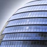 Edificio de oficinas futurista Fotos de archivo