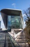 Edificio de oficinas futurista Foto de archivo libre de regalías