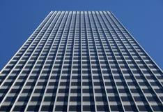 Edificio de oficinas gris fotos de archivo
