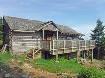 Edificio de oficinas de la casa de campo de LeConte fotografía de archivo