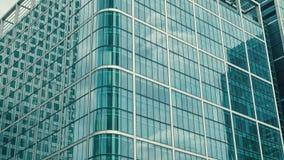 Edificio de oficinas de Londres, distrito financiero metrajes