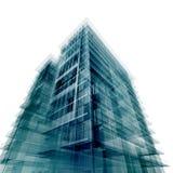 Edificio de oficinas moderno ilustración del vector