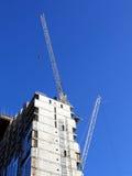 Edificio de oficinas moderno bajo construcción en Liverpool Foto de archivo libre de regalías