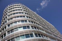 Edificio de oficinas moderno, Manchester Reino Unido fotos de archivo