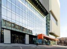 Edificio de oficinas, Moscú, Rusia Imagen de archivo libre de regalías