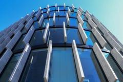 Edificio de oficinas vidrioso Imagenes de archivo