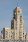Edificio de oficinas viejo foto de archivo