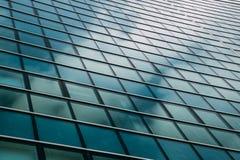 Edificio de oficinas Windows Foto de archivo