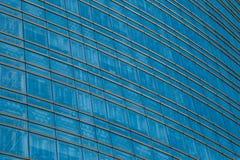 Edificio de oficinas Windows Imagen de archivo libre de regalías