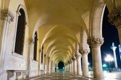 Edificio de Palazzo Ducale situado en Venecia, Italia Fotografía de archivo