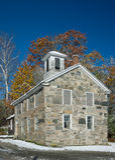 Edificio de piedra Imagen de archivo libre de regalías