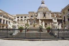 Edificio de piedra Foto de archivo
