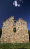 Edificio de piedra del abandono Fotografía de archivo libre de regalías