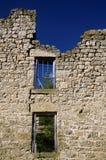 Edificio de piedra del abandono Foto de archivo