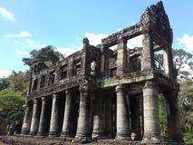 Edificio de piedra del templo Foto de archivo libre de regalías