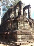 Edificio de piedra del templo Fotografía de archivo