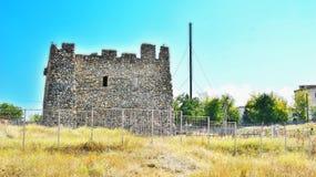 Edificio de piedra histórico del Scythians Imagen de archivo
