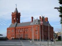 Edificio de Pierhead Imagen de archivo libre de regalías