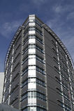 Edificio de plata fotos de archivo libres de regalías