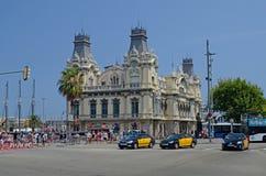 Edificio de Port Authority, Barcelona, Tom Wurl Imagen de archivo