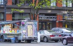 Edificio de Portland Cienciología - PORTLAND - OREGON - 16 de abril de 2017 Fotos de archivo
