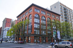 Edificio de Portland Cienciología - PORTLAND - OREGON - 16 de abril de 2017 Foto de archivo libre de regalías