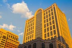 Edificio de quinientos Boylston en Boston Imagen de archivo libre de regalías
