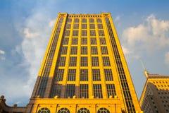 Edificio de quinientos Boylston en Boston imagen de archivo