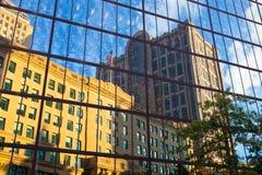 Edificio de quinientos Boylston en Boston EE.UU. Foto de archivo