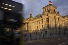 Edificio de Reichstag Fotografía de archivo