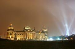 Edificio de Reichstag (el parlamento alemán) en Berlín Imagenes de archivo